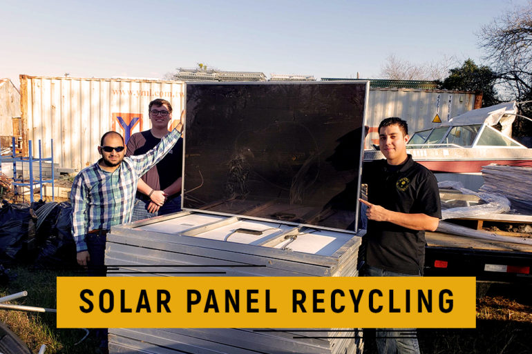 Solar Panel Recycling South Texas Solar Systems