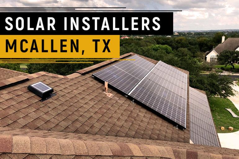 Solar Panels Installers McAllen