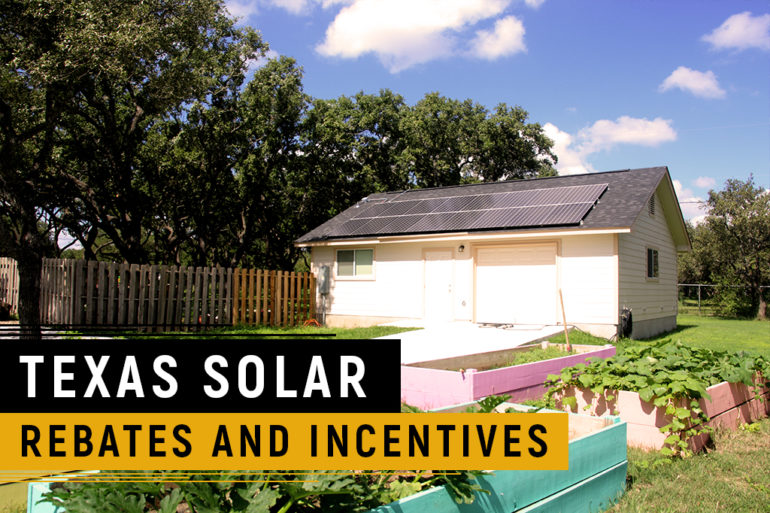 Texas Solar Incentives and Rebates
