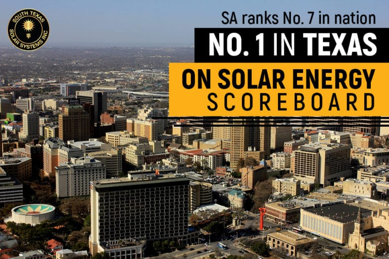 Did you know that Texas is on top for solar energy capacity?