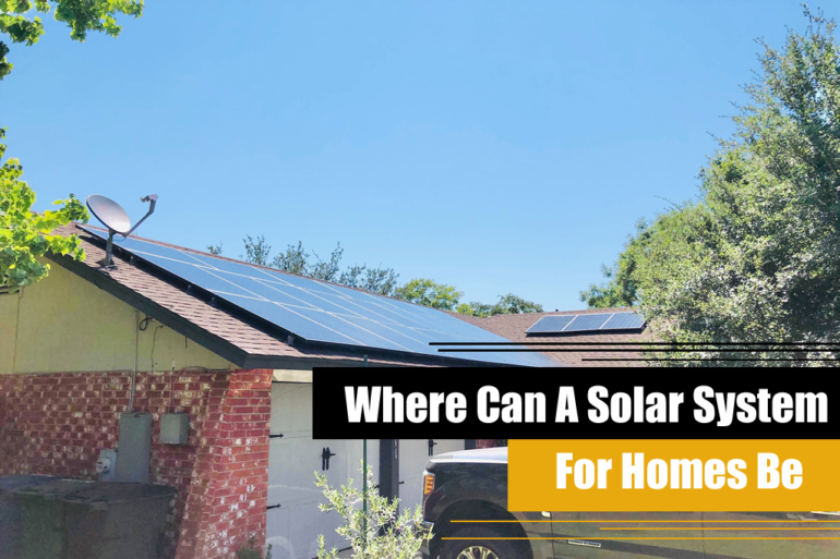 Where Can A Solar System For Homes Be